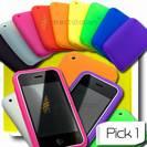 נרתיק סיליקון איכותי לאייפון 3G / 3Gs- מבחר צבעים